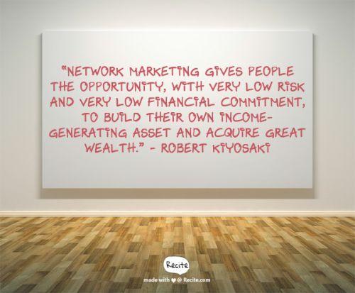 advantages of network marketing